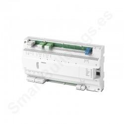 Controlador DESIGO PX compacto con comunicación BACnet/LonTalk (8UIO,2DI,2DO)