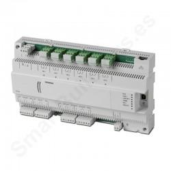 Controlador DESIGO PX compacto con comunicación BACnet/LonTalk (16UIO,6DO)