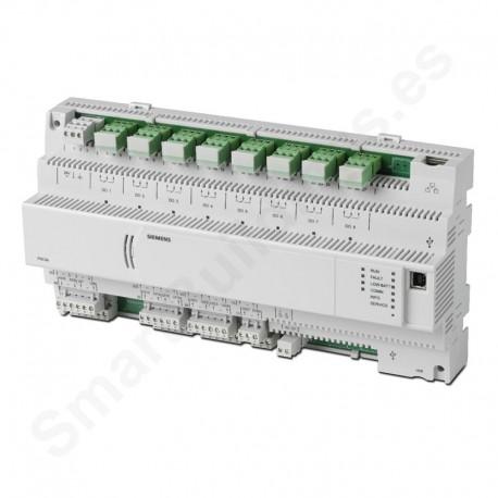 Controlador DESIGO PX compacto con comunicación BACnet/IP (8UIO,2DI,2DO)