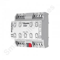 MAXinBOX 8. Actuador 8 salidas 16A KNX multifunción