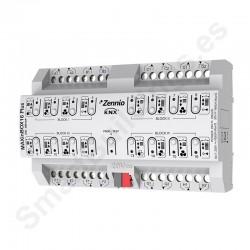 MAXinBOX 16 Plus. Actuador 16 salidas 16A KNX multifunción