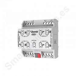 MAXinBOX SHUTTER 4CH. Actuador de persianas de 4 canales.
