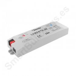 Lumento X4. Controlador LED RGBW / 4 canales indep. Control por tensión. 12-24V