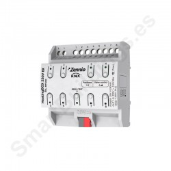 HeatingBOX 230V 8X. Actuador de calefacción con salidas a 230VAC - 8 canales.