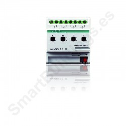 Actuador de salidas binarias con 4 canales de 16A